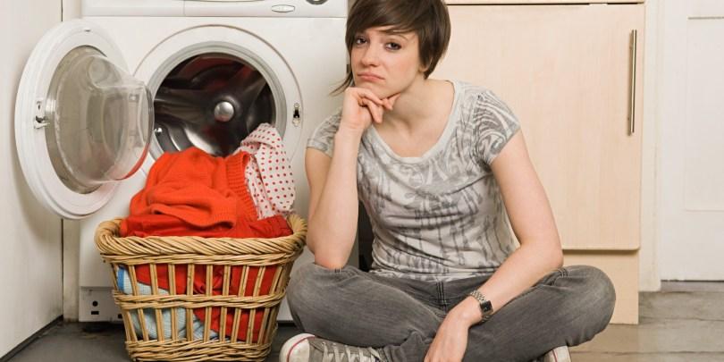 قم بغسل الملابس خلال الأسبوع