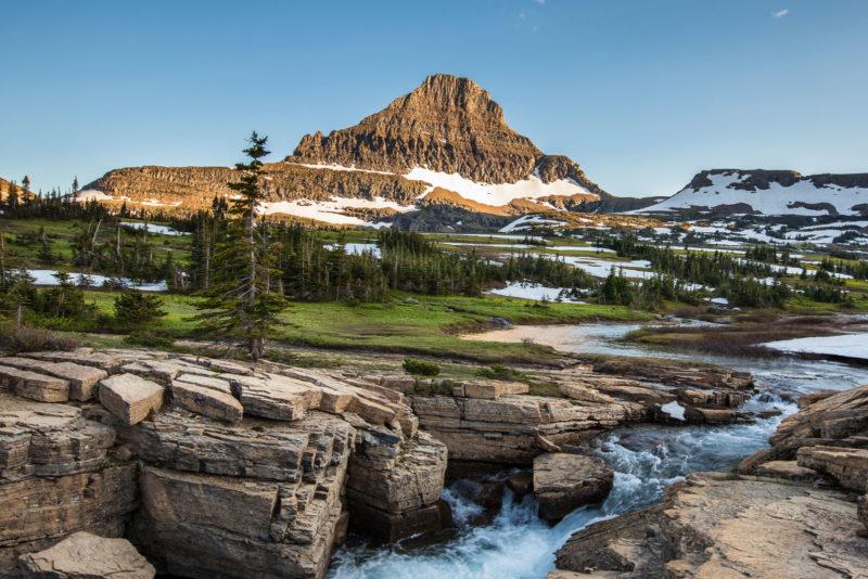الحديقة الوطنية الجليدية فى مونتانا