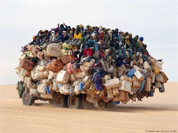 وسائل النفل في افريقيا
