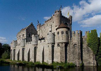 قلعةGravensteen