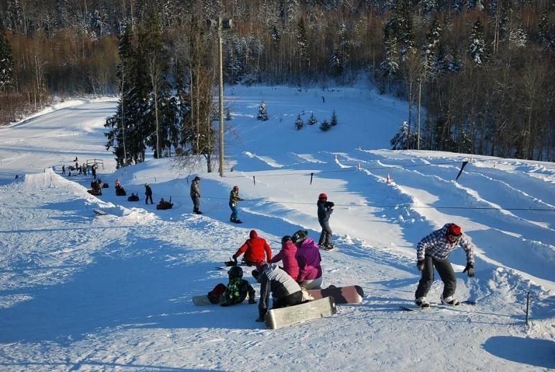 التزلج على الجليد فى أوتبيا
