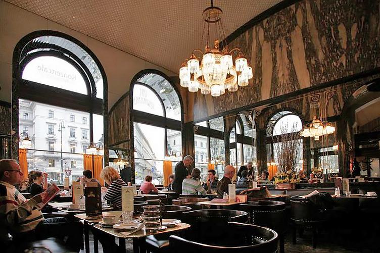 مقاهى فيينا