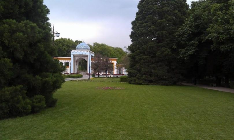 الحديقة النباتية والمنزلية فى دوشنبه