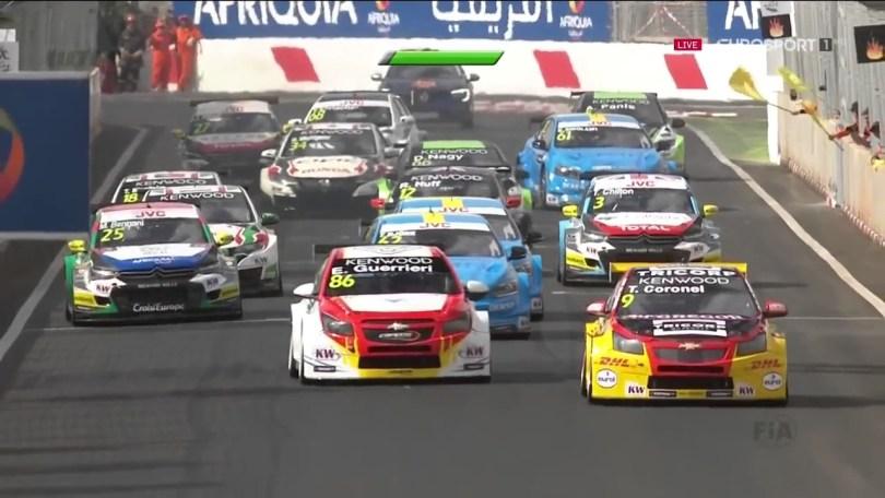 سباق الأتحاد العالمى للسيارات فى مراكش