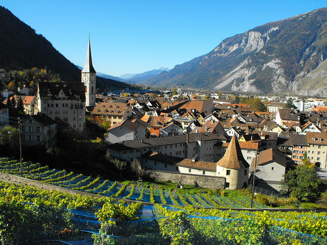 مدينة خور السويسرية القديمة