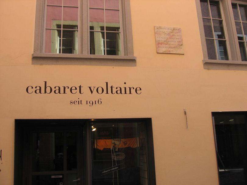 مركز الفنون Cabaret Voltaire Zürich