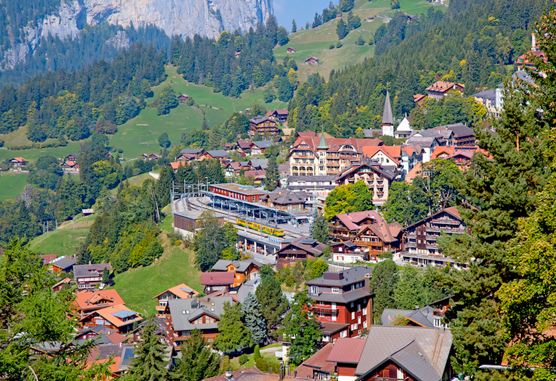 القرى في سويسرا