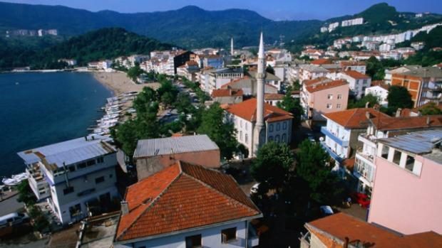ساحل البحر الأسود في تركيا