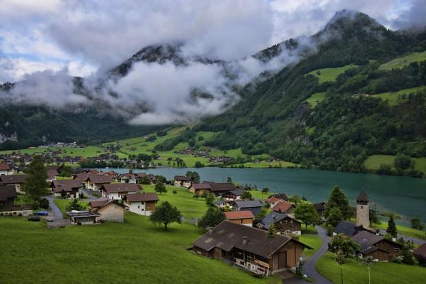 Image result for صور اجمل المدن في العالم  lungern  سويسرا