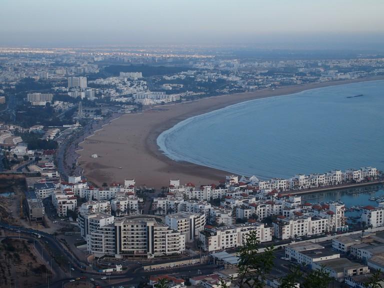 الشواطىء في المغرب