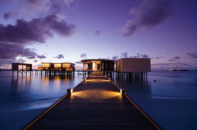 جزر المالديف في الشتاء