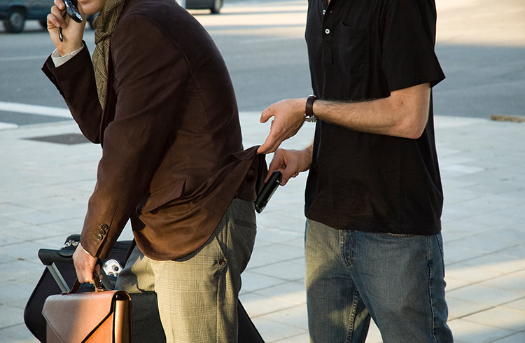 السرقة في برشلونة