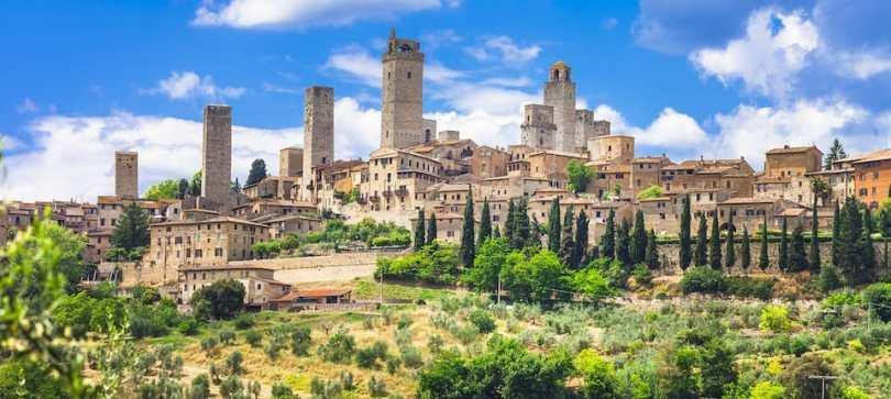 المدن الإيطالية