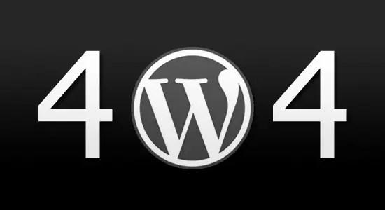 wordpress-404