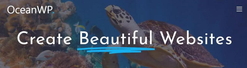 4 – قالب Ocean Wp قوالب وورد بريس متعددة الأغراض