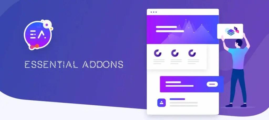 7 – إضافة Essential addons for elementor باستخدام Elemontor