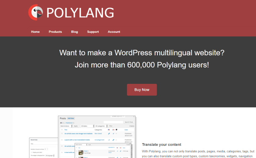 إضافة Polylang