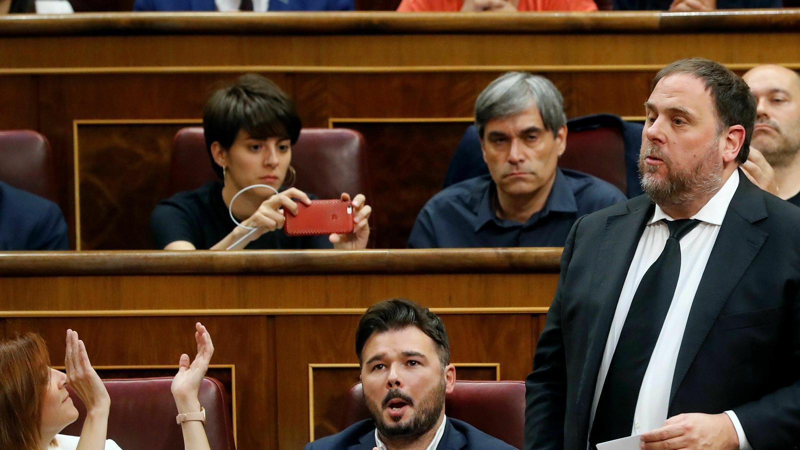 El Supremo busca elevar el caso Junqueras al TJUE sin suspender la sentencia para todos