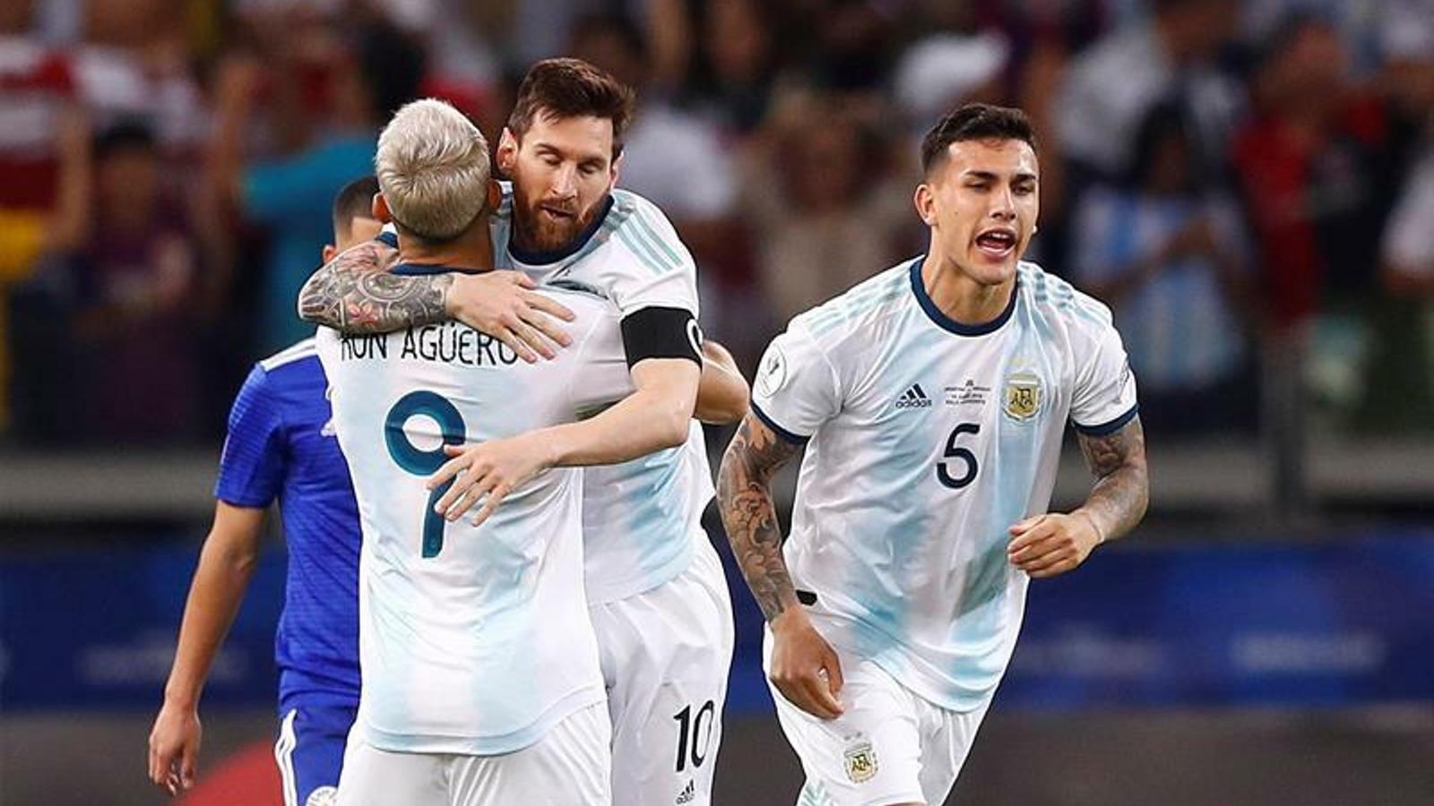 Messi segueix ofegant-se amb la selecció i no passa de l'empat amb el Paraguai (1-1)