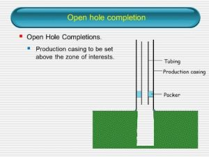 Open Hole Completion
