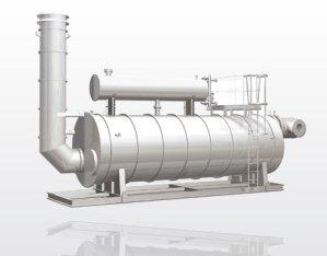 crude oil heater