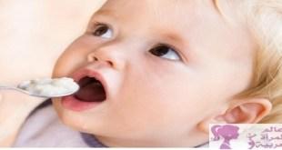 بدء تغذية الرضيع