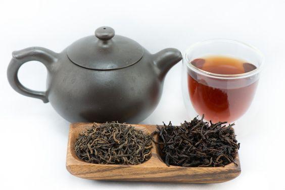 شاي صيني أسود