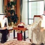 رسالة الخرافي إلى سمو الأمير حول تعذر إنعقاد الجلسات