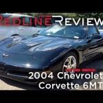 2004 Chevrolet Corvette 6MT, Review, Walkaround, Exhaust, Test Drive