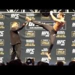UFC 194: Open Workout Highlights