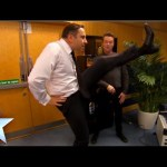 David Walliams shows off his high kicks | Britain's Got More Talent 2014