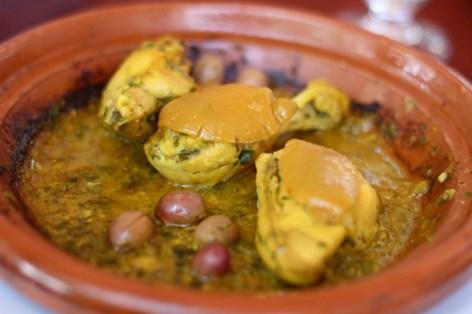 Tajine Dajaj - Chicken in Garlic