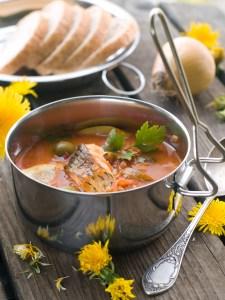 Shawrabat Samak - Fish Soup