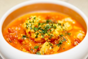 Tajine bil Hut - Fish Stew