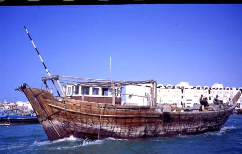 Arab Navigation-Dhows Sailing on Dubai Creek