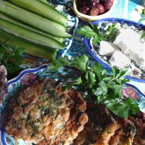 Mediterranean Cooking from the Garden with Linda Dalal Sawaya—A season of gratitude and greens!