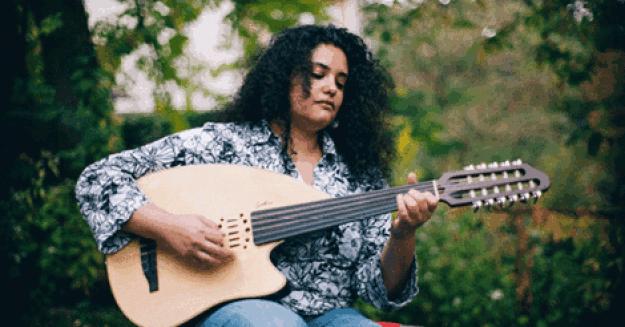 Palestinian artist Huda Asfour's music reflects determination