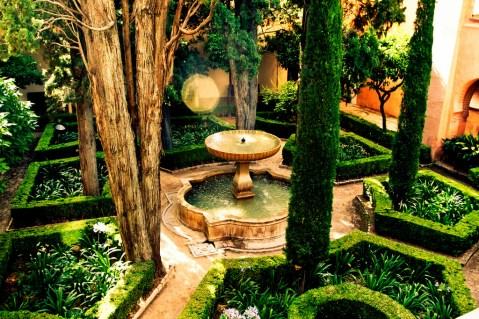 Garden-Alhambra-Spain