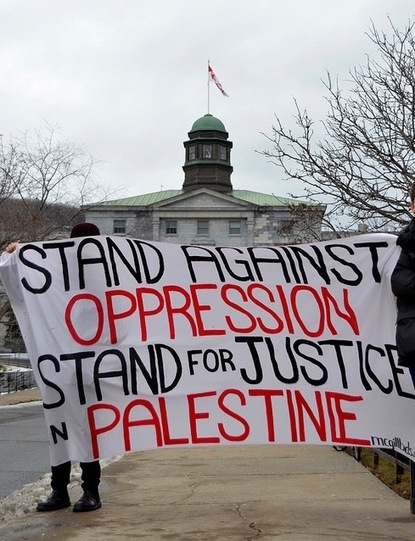 By opposing nonviolent BDS, McGill and Canadian government put themselves on wrong side of history