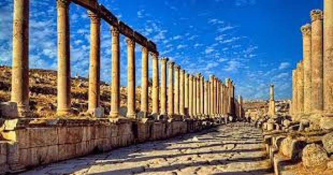 Roman Remains In The Arab World