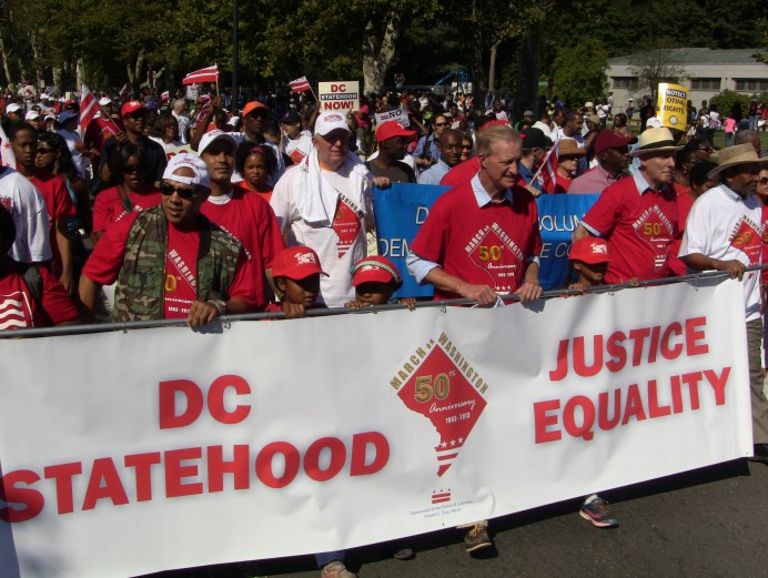 DC Mayor Condemns BDS Movement, But Strives for DC Statehood
