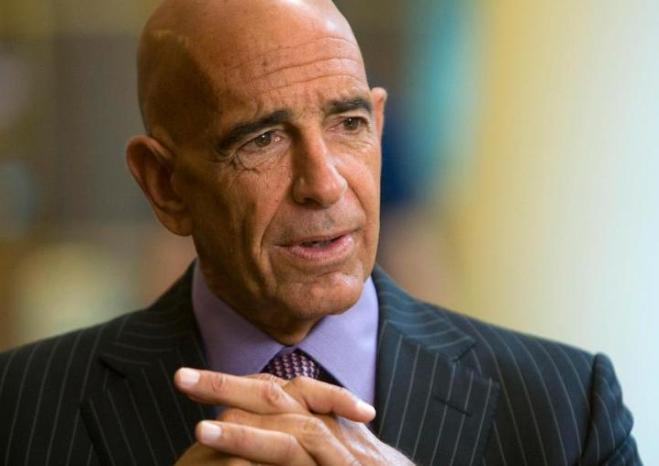 Tom Barrack is the grandson of Lebanese immigrants. Image Credit: Follow News
