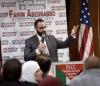 Muslim trustee honored amid Trump policy concerns