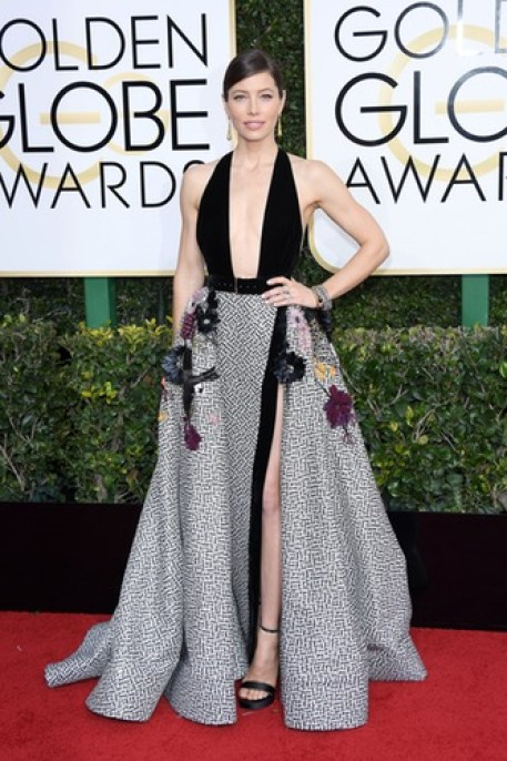 Celebs Wear Arab Designers at the 2017 Golden Globes