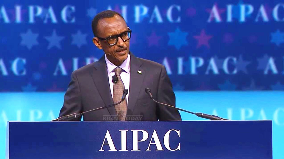 Rwandan President Calls Israel an 'Inspiration' for Overcoming Genocide at AIPAC Conference