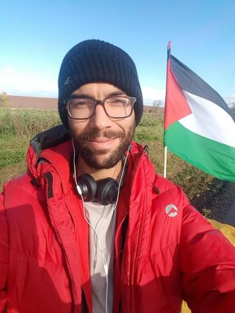 Swede Shows the Way to Palestine, Hiking Nearly 3,000 Miles,