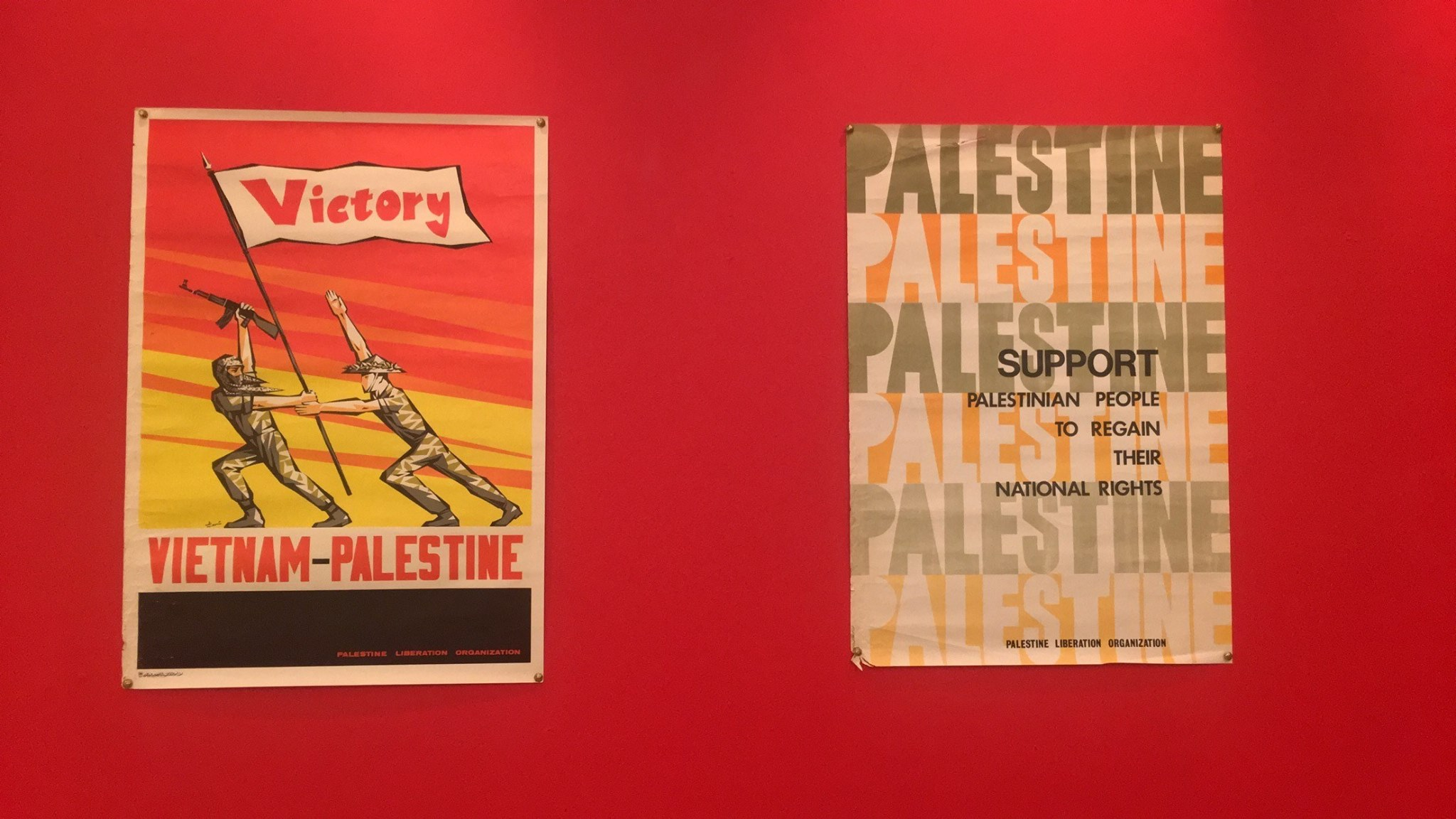 Gallery Al Quds: Historical Palestinian Posters From The 60s