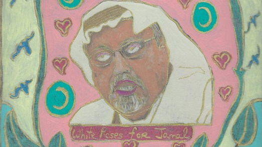 Khashoggi's Sacrifice Changed Course of Arab History, Says Tribute Painter