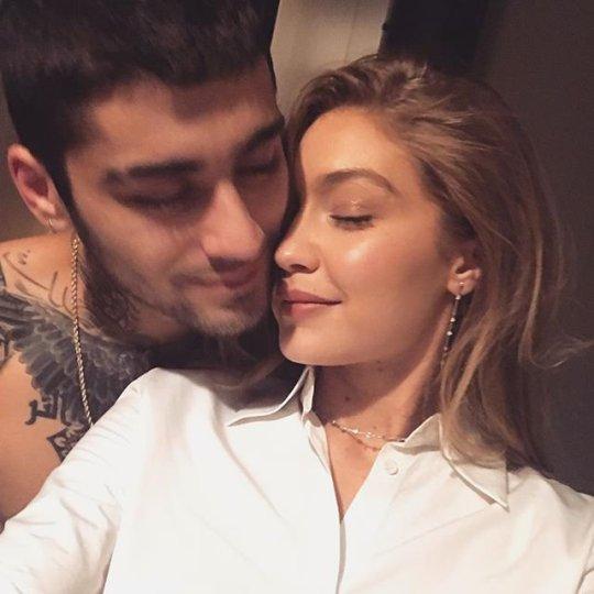 Zayn Malik Channels Girlfriend Gigi Hadid as He Gets his