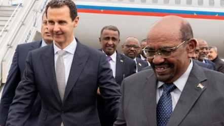 Sudan's President First Arab Leader to Visit Assad